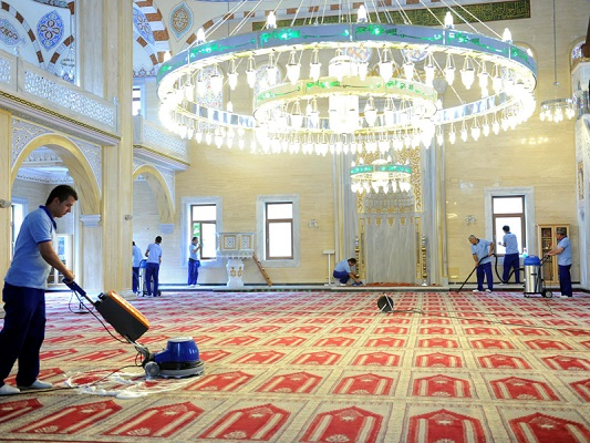 İtinalı, hızlı cami temizliği İstanbul