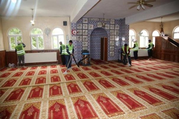 Beykoz Tarihine Yakışır Beykoz Cami Temizliği