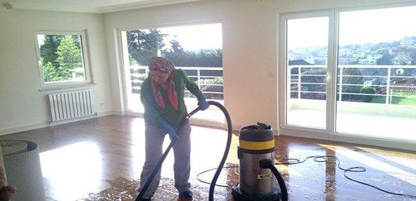 zemin temizliği